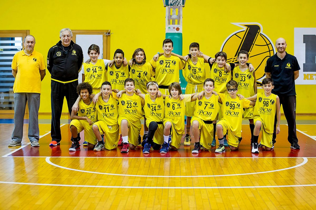 Under 14 Elite e Under 13 Giallo a braccetto