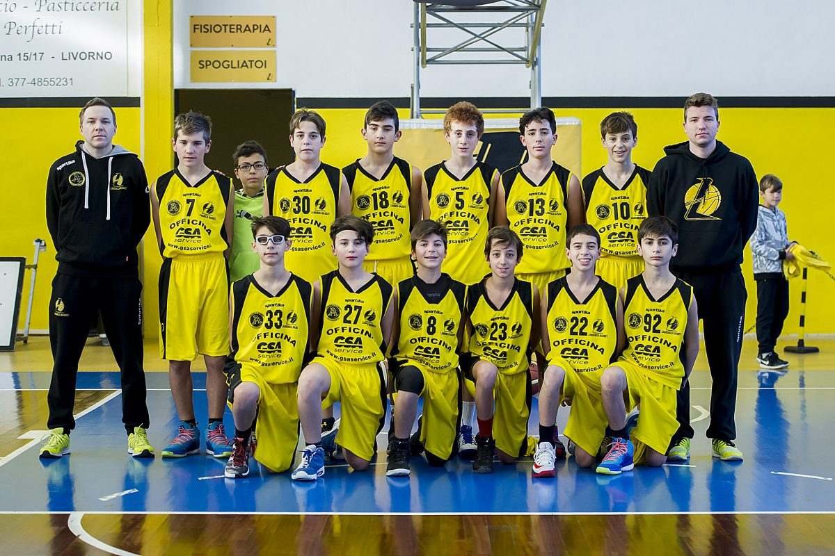 Stupendo riscatto dell'under 15 Regionale